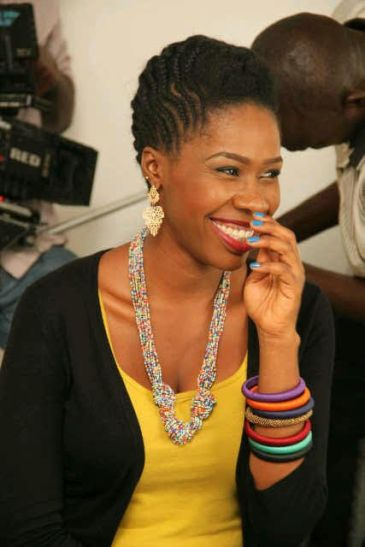 Omoye Uzamere is a well rounded performer with a background in theatre and television presenting.She started acting professionally in 2007, after doing amateur theatre and production for a while. She is also an OAP, known as Brownie, with Rhythm 93.7FM