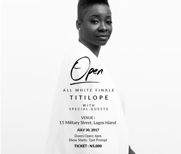 OPEN WITH TITILOPE & OTHER EVENTS THIS WEEKEND