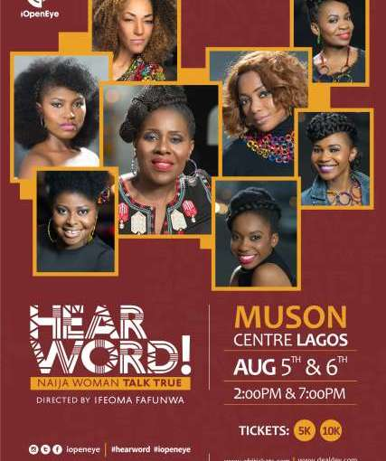 HEAR WORD AND OTHER EVENTS HAPPENING THIS WEEKEND IN LAGOS