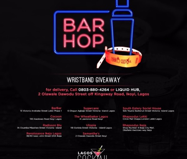 BAR HOP AND OTHER EVENTS HAPPENING THIS WEEKEND